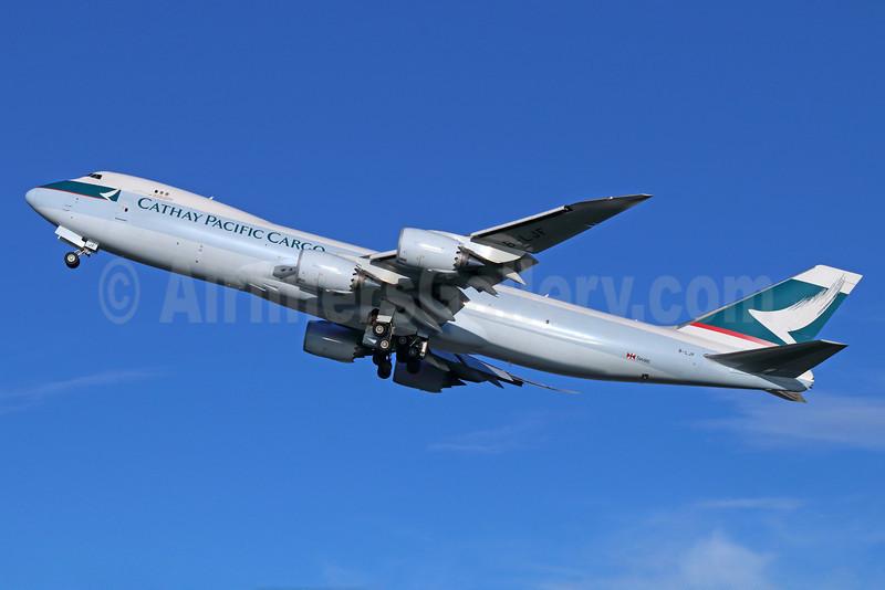 Cathay Pacific Airways Cargo Boeing 747-867F B-LJF (msn 39243) ANC (Michael B. Ing). Image: 920278.