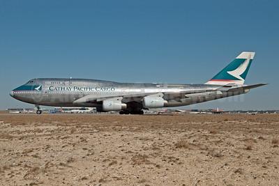 Cathay Pacific Airways Cargo Boeing 747-444 (F) B-HUS (msn 25152) JFK (Fred Freketic). Image: 950187