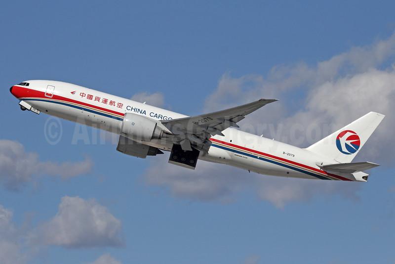 China Cargo Airlines Boeing 777-F6N B-2079 (msn 37715) LAX (Michael B. Ing). Image: 920287.