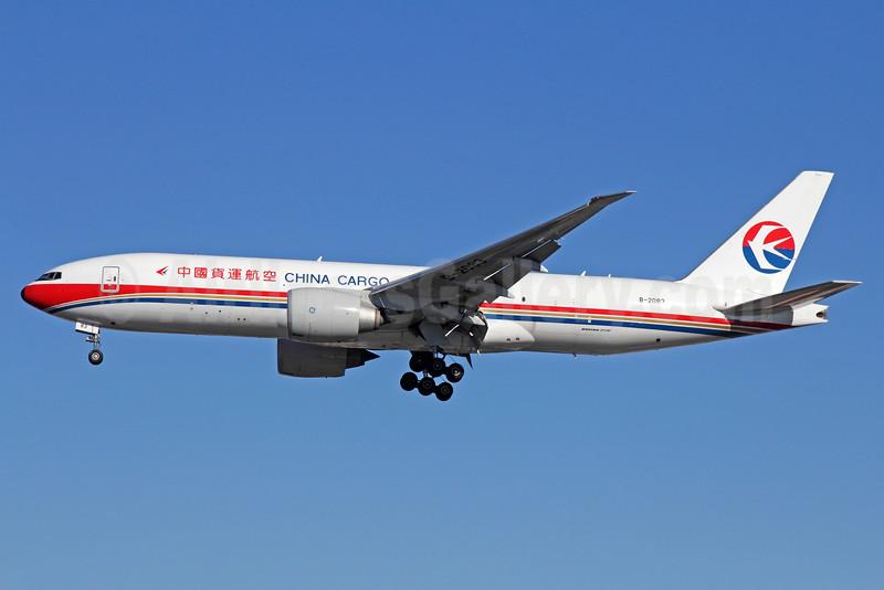 China Cargo Airlines Boeing 777-F6N B-2083 (msn 37717) LAX (Michael B. Ing). Image: 920289.