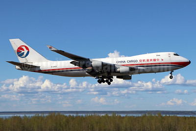 China Cargo Airlines Boeing 747-412F B-2428 (msn 28263) ANC (Michael B. Ing). Image: 938201.