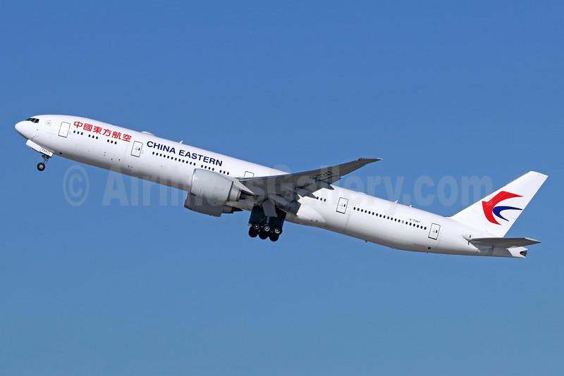 China Eastern Airlines Boeing 777-39P ER B-7347 (msn 43278) LAX (Michael B. Ing). Image: 935888.