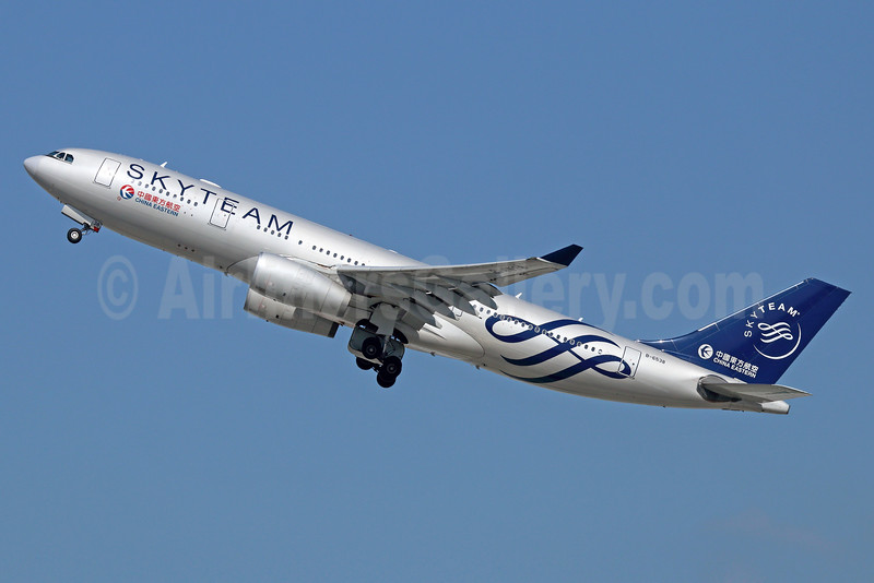 China Eastern Airlines Airbus A330-243 B-6538 (msn 1267) (SkyTeam) LAX (Michael B. Ing). Image: 930490.