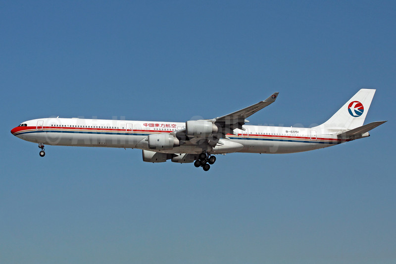 China Eastern Airlines Airbus A340-642 B-6051 (msn 488) LAX (Michael B. Ing). Image: 904780.