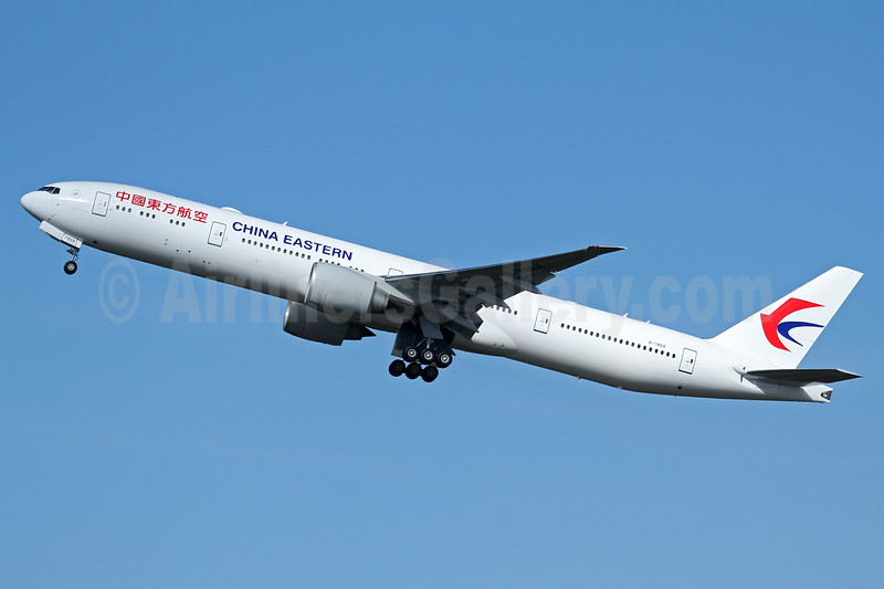 China Eastern Airlines Boeing 777-39P ER B-7868 (msn 43283) PAE (Nick Dean). Image: 937616.