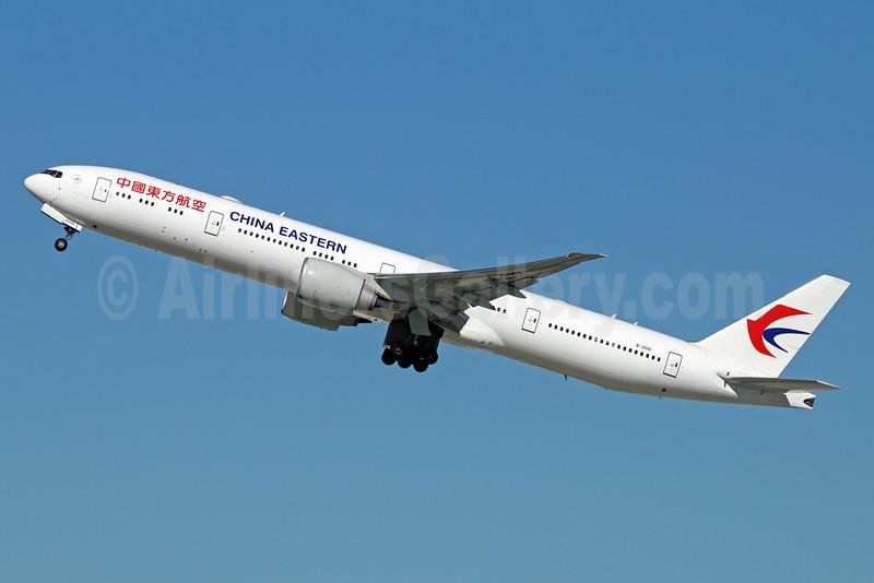 China Eastern Airlines Boeing 777-39P ER B-2001 (msn 43269) LAX (Michael B. Ing). Image: 926030.