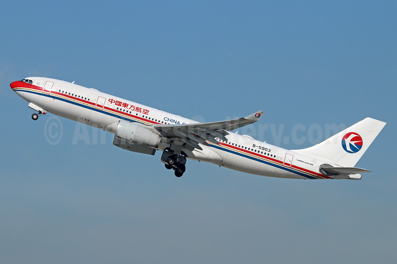 China Eastern Airlines Airbus A330-243 B-5903 (msn 1331) LAX (Michael B. Ing). Image: 930484.