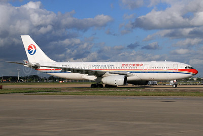 China Eastern Airlines Airbus A330-243 B-6537 (msn 1262) LHR. Image: 930489.