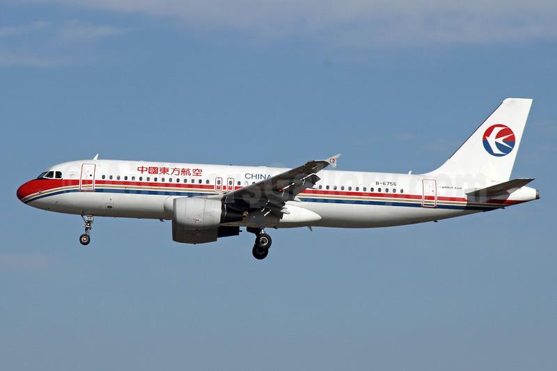 China Eastern Airlines Airbus A320-214 B-6756 (msn 4659) PEK (Michael B. Ing). Image: 912384.