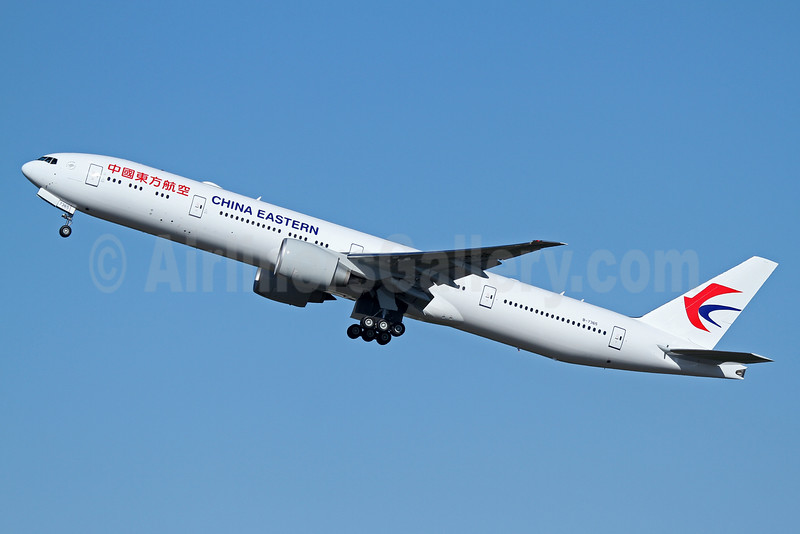 China Eastern Airlines Boeing 777-39P ER B-7365 (msn 43280) PAE (Nick Dean). Image: 933926.