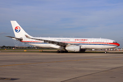 China Eastern Airlines Airbus A330-243 B-5941 (msn 1484) LHR. Image: 930487.