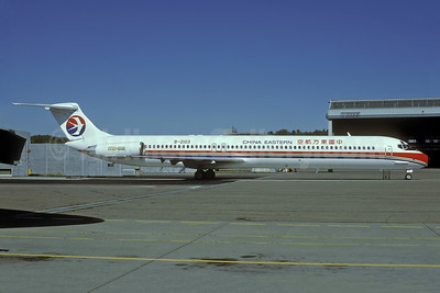 China Eastern Airlines McDonnell Douglas DC-9-82 (MD-82) B-2103 (msn 49355) ZRH (Rolf Wallner). Image: 938542.