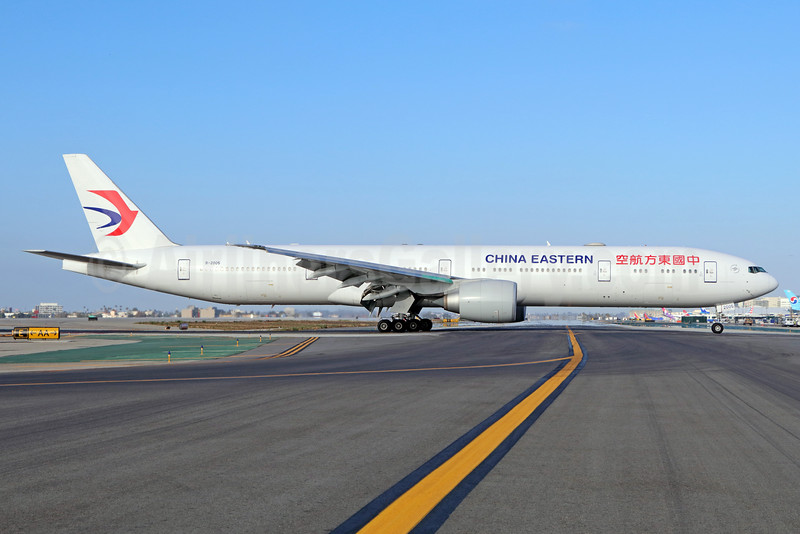 China Eastern Airlines Boeing 777-39P ER B-2005 (msn 43271) LAX. Image: 933807.