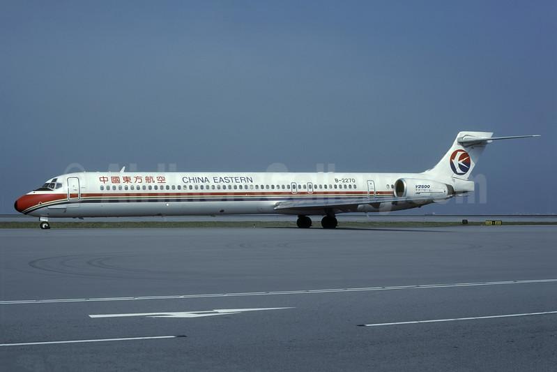 China Eastern Airlines McDonnell Douglas MD-90-30 B-2270 (msn 53590) HKG (Rolf Wallner). Image: 938546.