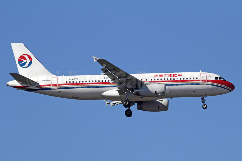 China Eastern Airlines Airbus A320-232 B-6877 (msn 5144) PEK (Michael B. Ing). Image: 909966.