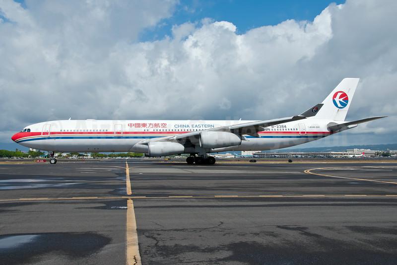 China Eastern Airlines Airbus A340-313 B-2384 (msn 182) HNL (Ivan K. Nishimura). Image: 908240.