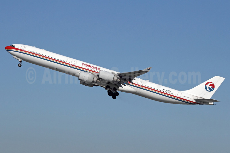 China Eastern Airlines Airbus A340-642 B-6051 (msn 488) LAX (Michael B. Ing). Image: 910686.