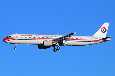 China Eastern Airlines Airbus A321-211 B-6331 (msn 3249) NRT (Michael B. Ing). Image: 934721.