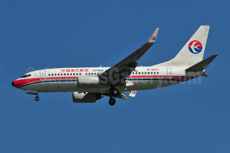 China Eastern Airlines Boeing 737-79P WL B-5271 (msn 36772) BKK (Ken Petersen). Image: 909964.