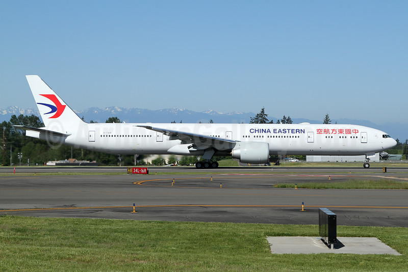 China Eastern Airlines Boeing 777-39P ER B-7369 (msn 43282) PAE (Nick Dean). Image: 932907.