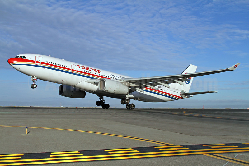 China Eastern Airlines Airbus A330-243 B-5920 (msn 1375) SFO (Mark Durbin). Image: 922080.