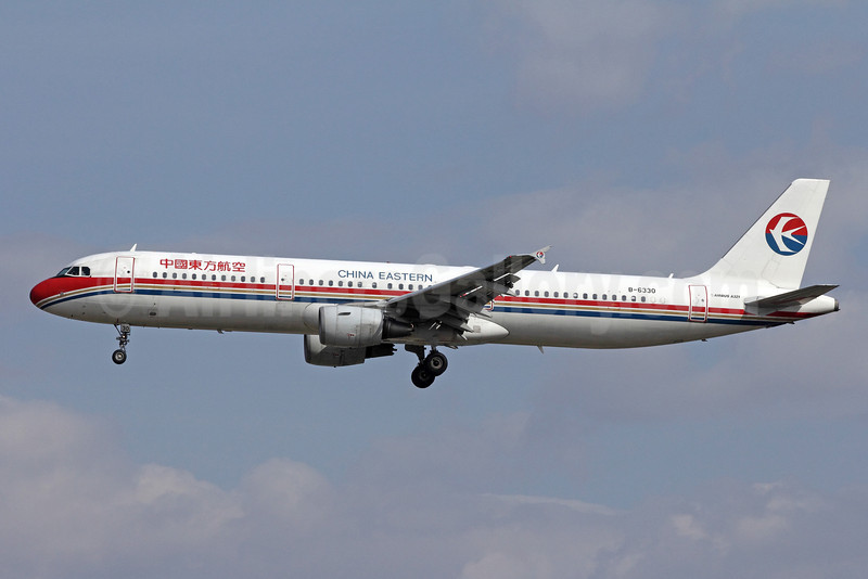 China Eastern Airlines Airbus A321-211 B-6330 (msn 3247) PEK (Michael B. Ing). Image: 908631.