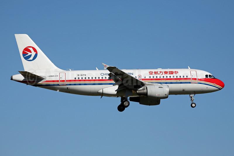 China Eastern Airlines Airbus A319-132 B-6172 (msn 3186) FUK (John Adlard). Image: 902278.