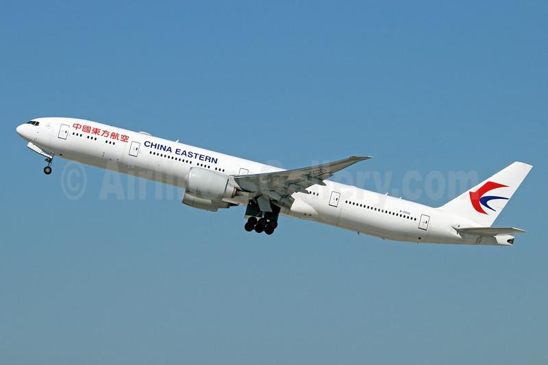 China Eastern Airlines Boeing 777-39P ER B-2020 (msn 43272) LAX (Michael B. Ing). Image: 929717.