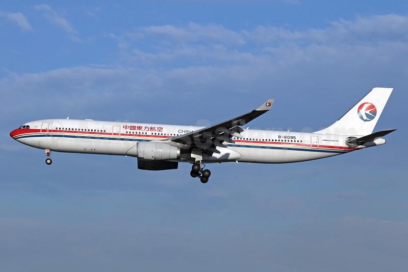 China Eastern Airlines Airbus A330-343 B-6095 (msn 851) PEK (Michael B. Ing). Image: 912393.