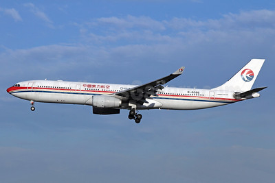 China Eastern Airlines Airbus A330-343 B-6095 (msn 851) PEK (Michael B. Ing). Image: 912393.