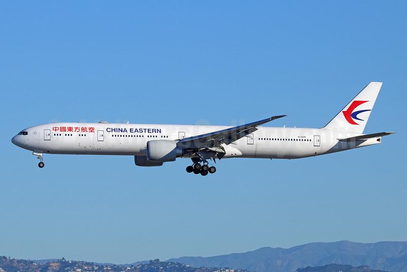 China Eastern Airlines Boeing 777-39P ER B-2005 (msn 43271) LAX (Michael B. Ing). Image: 931585.