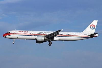 China Eastern Airlines Airbus A321-211 B-6369 (msn 3682) PEK (Michael B. Ing). Image: 912390.