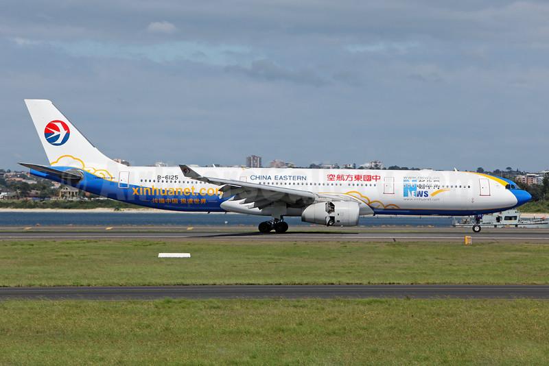 China Eastern Airlines Airbus A330-343 B-6125 (msn 773) (Xinhuanet.com) SYD (John Adlard). Image: 910684.