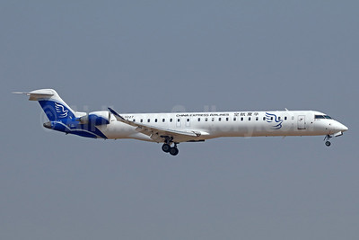China Express Airlines Bombardier CRJ900 (CL-600-2D24) B-3227 (msn 15410) TSN (Michael B. Ing). Image: 939401.