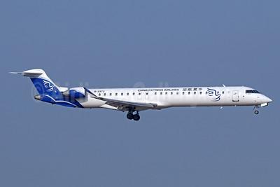 China Express Airlines Bombardier CRJ900 (CL-600-2D24) B-3372 (msn 15359) TSN (Michael B. Ing). Image: 939402.