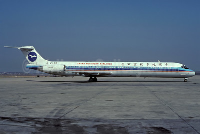 China Northern Airlines McDonnell Douglas DC-9-82 (MD-82) B-2136 (msn 49520) SHA (Rolf Wallner). Image: 938550.