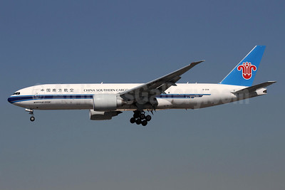 China Southern Airlines Cargo Boeing 777-F1B B-2041 (msn 41632) LAX (James Helbock). Image: 930499.