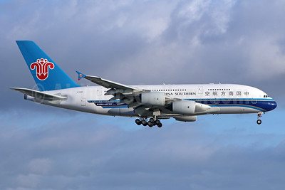 China Southern Airlines Airbus A380-841 B-6140 (msn 120) LAX (Michael B. Ing). Image: 938565.