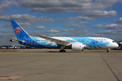 China Southern Airlines Boeing 787-8 Dreamliner B-2732 (msn 34926) LHR. Image: 938560.