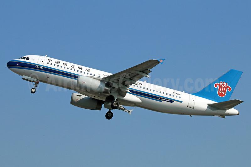 China Southern Airlines Airbus A320-232 B-1802 (msn 5837) PEK (Michael B. Ing). Image: 937734.