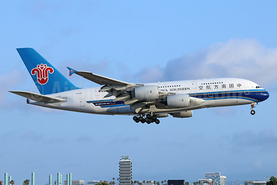China Southern Airlines Airbus A380-841 B-6136 (msn 031) LAX (Michael B. Ing). Image: 938563.