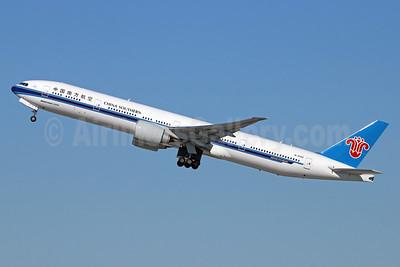 China Southern Airlines Boeing 777-31B ER B-2029 (msn 43224) LAX (Michael B. Ing). Image: 930493.