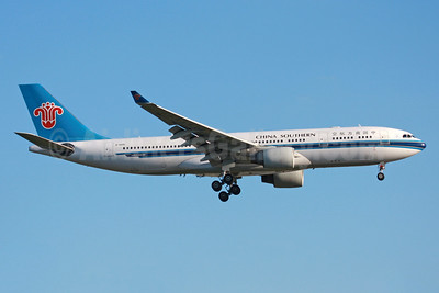China Southern Airlines Airbus A330-243 B-6515 (msn 1116) LHR (SPA). Image: 943797.