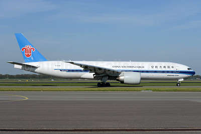 China Southern Airlines Cargo Boeing 777-F1B B-2026 (msn 41635) AMS (Ton Jochems). Image: 937730.