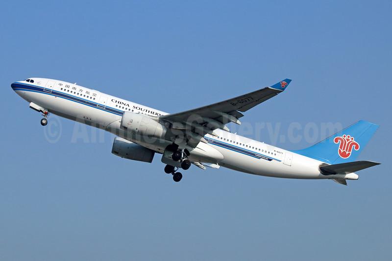 China Southern Airlines Airbus A330-243 B-6077 (msn 818) PEK (Michael B. Ing). Image: 938476.
