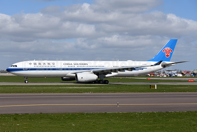 China Southern Airlines Airbus A330-343 B-8365 (msn 1821) AMS (Ton Jochems). Image: 946129.
