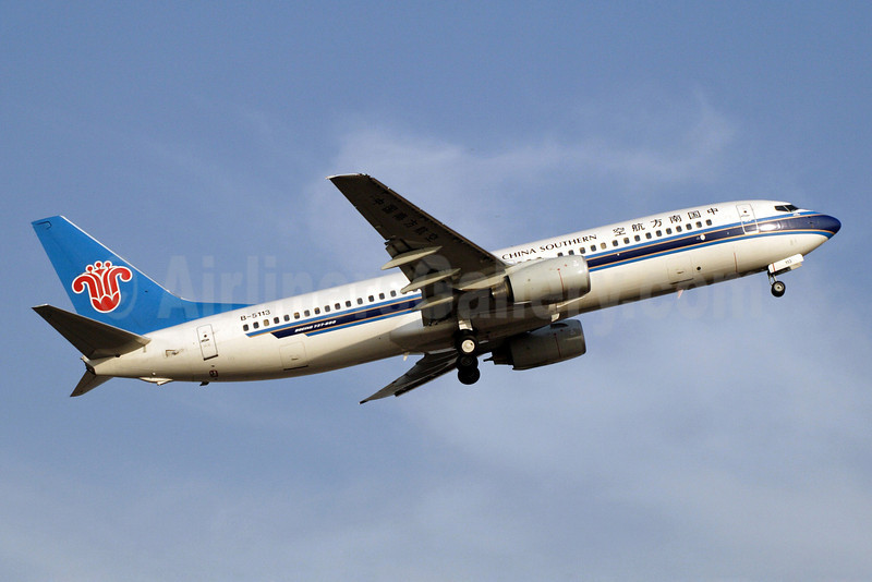 China Southern Airlines Boeing 737-81B B-5113 (msn 34250) PEK (Michael B. Ing). Image: