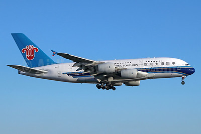China Southern Airlines Airbus A380-841 B-6139 (msn 088) LAX (Michael B. Ing). Image: 938564.