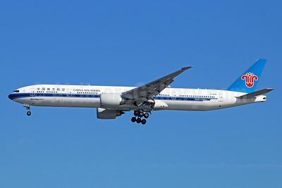 China Southern Airlines Boeing 777-31B ER B-2099 (msn 43219) LAX (Michael B. Ing). Image: 929773.