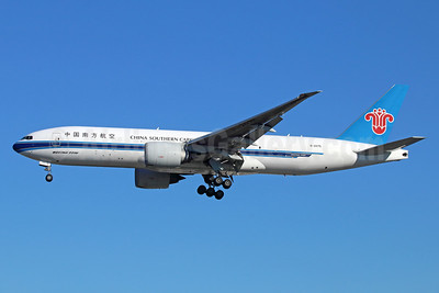 China Southern Airlines Cargo Boeing 777-F1B B-2075 (msn 37312) LAX (Michael B. Ing). Image: 934543.